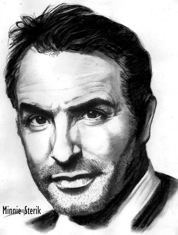 Jean Dujardin by Jodylinn